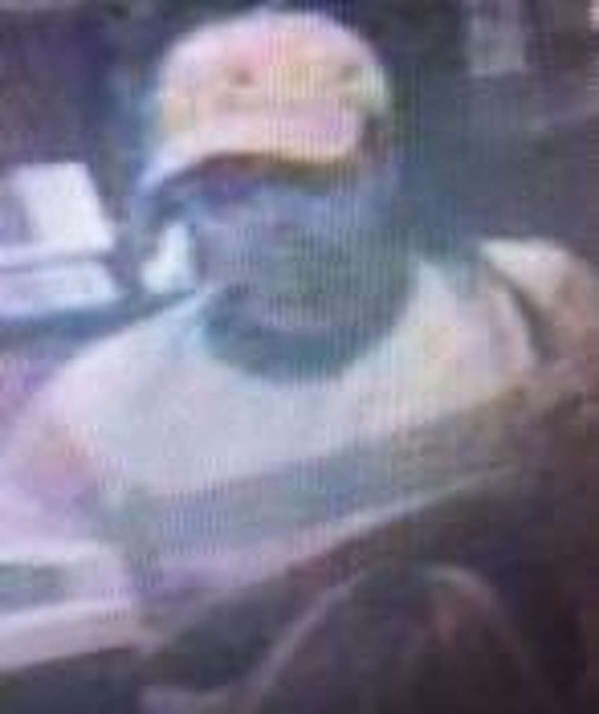Police are searching for this suspect in connection with a robbery at the San Antonio Federal Credit Union at 7318 Louis Pasteur on March 9.