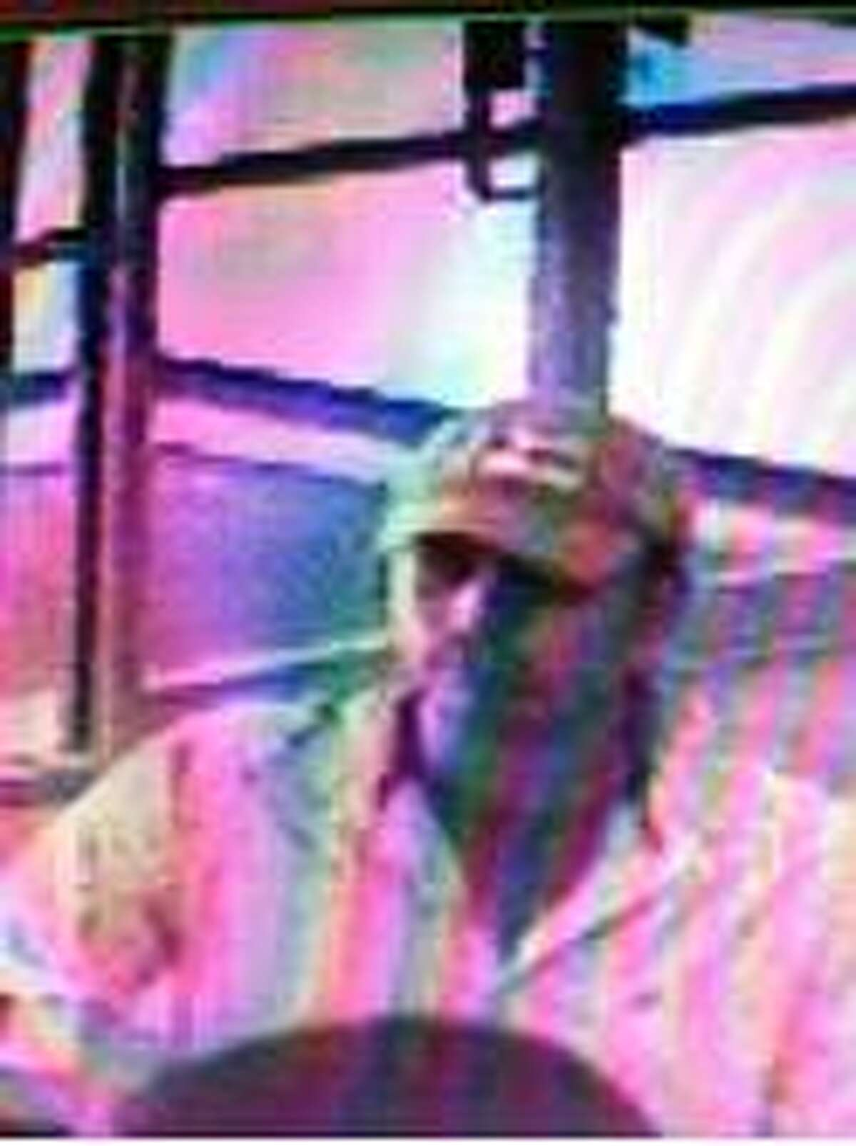 Police are searching for this suspect in connection with a robbery at the San Antonio Federal Credit Union at 7318 Louis Pasteur on Feb. 8.
