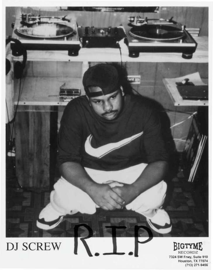 RIP DJ ScrewClick through the gallery to read the fond words of Houston rappers about DJ Screw and his legendary music. Photo: Bigtyme Recordz / Handout print