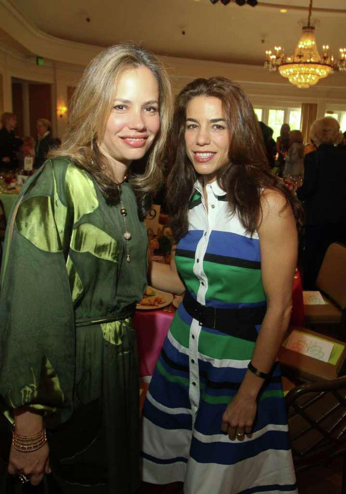 Hilda Curran, left, and Karen Haug