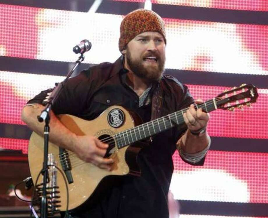 Zac Brown performs Monday, March 12, 2012, at the Houston Livestock Show and Rodeo. (James Nielsen / Chronicle)