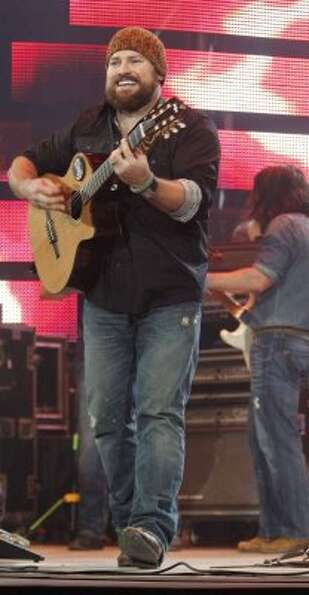 Zac Brown performs Monday, March 12, 2012, at the Houston Livestock Show and Rodeo. (James Nielsen /
