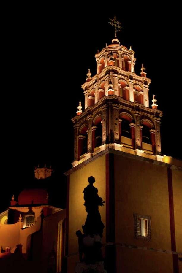 Basílica Colegiata de Nuestra Señora de Guanajuato, México. Photo: Dario Lopez-Mills / AP