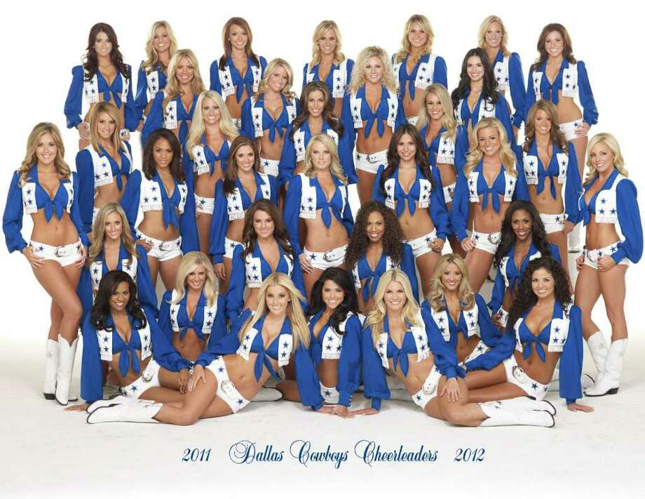 Members of the Dallas Cowboys Cheerleaders will sign autographs for fans at a San Antonio Rampage game. Photo: Courtesy Dallas Cowboys Cheerleaders