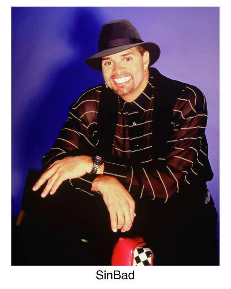 Sinbad, named by Comedy Central one of the top 100 comedians of all time, will be performing at Harrah's. Photo: COURTESY