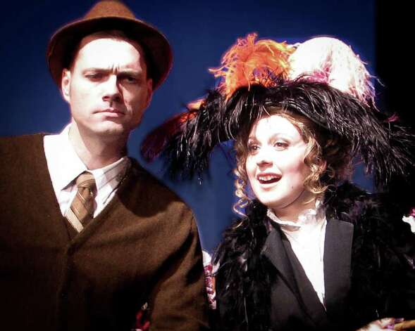 Roy Bumgarner (from left) and Amanda Golden star in the Playhouse's 'My Fair Lady.' Courtesy Playhouse