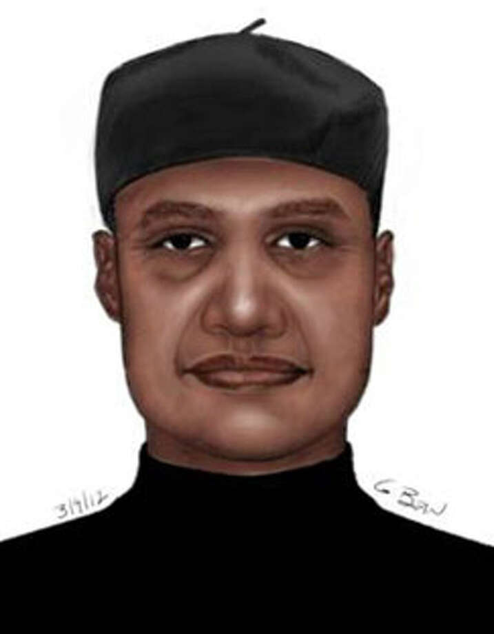 An sketch released Tuesday of a man suspected of robbing a woman Friday night at her home.