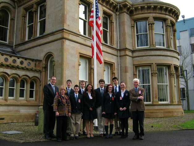 Doane Stuart students visited the American Embassy, Northern Ireland in February as part of the School's annual trip to Belfast. The Belfast visit is one component of the School's Irish and American Exchange program with Lagan College in Northern Ireland.