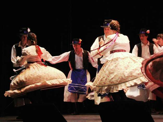 The Austin-based Csardas Hungarian Dancers will take part in the San Antonio Folk Dance Festival. Courtesy San Antonio Folk Dance Festival Photo: COURTESY SAN ANTONIO FOLK DANCE
