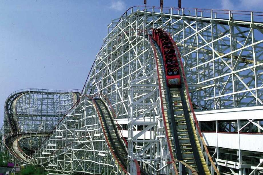 A generation of Houstonians were thrilled by Astroworld's roller coasters and rides. / Handout CD