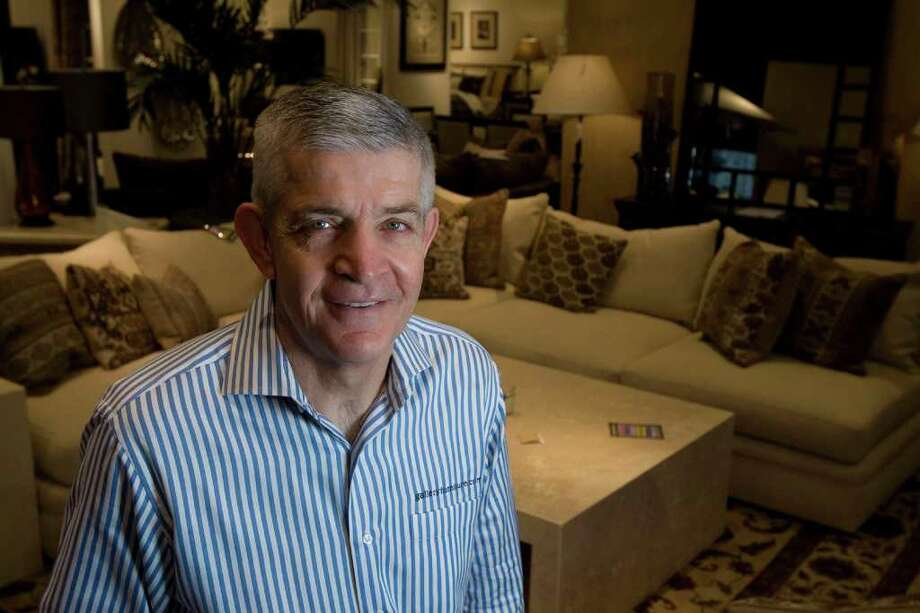 Gallery Furniture's owner Jim McIngvale, shown in 2009 at his then-new store near Post Oak and Westheimer, tweeted to his more than 3,000 followers that he underwent a heart procedure. Photo: James Nielsen / Houston Chronicle