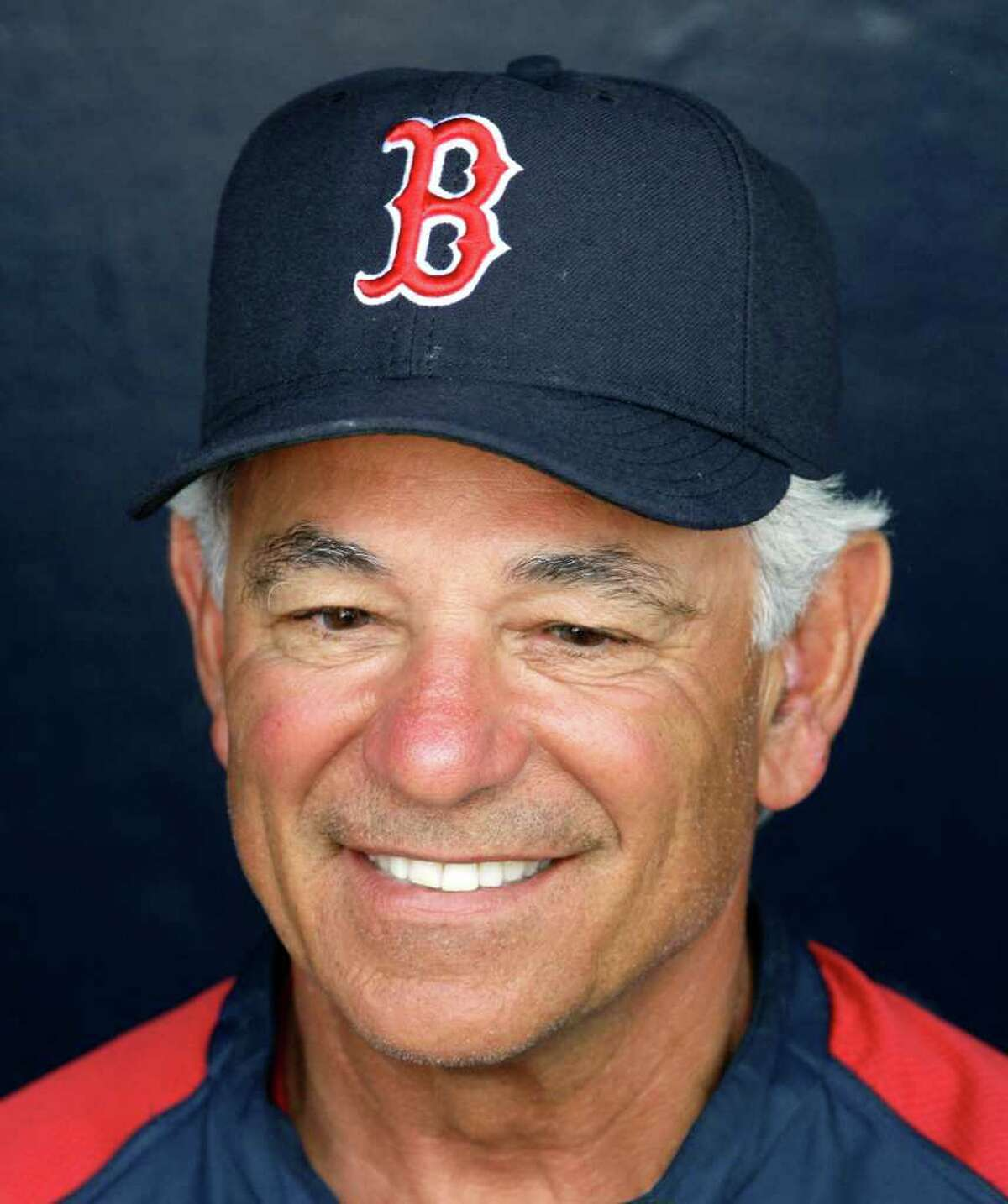 Boston Red Sox manager Bobby Valentine is asked questions from reporters before the Red Sox faced the New York Yankees in a spring training baseball game at Steinbrenner Field in Tampa, Fla., Tuesday, March 13, 2012.