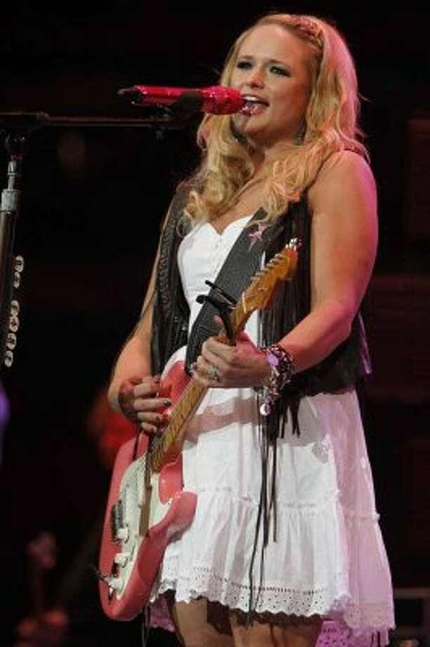 Miranda Lambert performs March 13, 2012, at the Houston Livestock Show and Rodeo. (Mayra Beltran / Houston Chronicle)