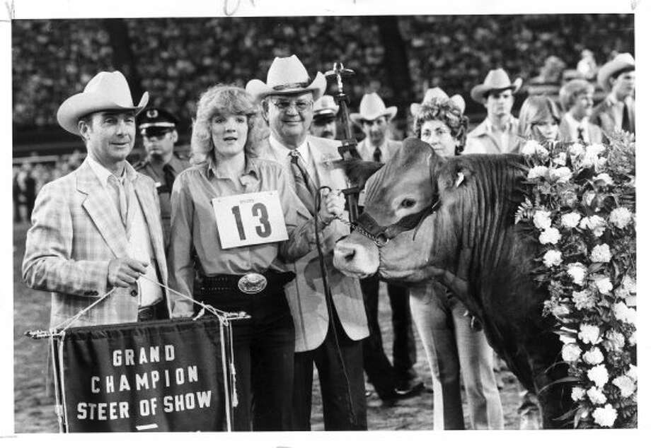 Angie Airhart, Don Jobes Jr. and Allen H. Carruth.   (CARRIE E. TUCKER / Houston Chronicle)