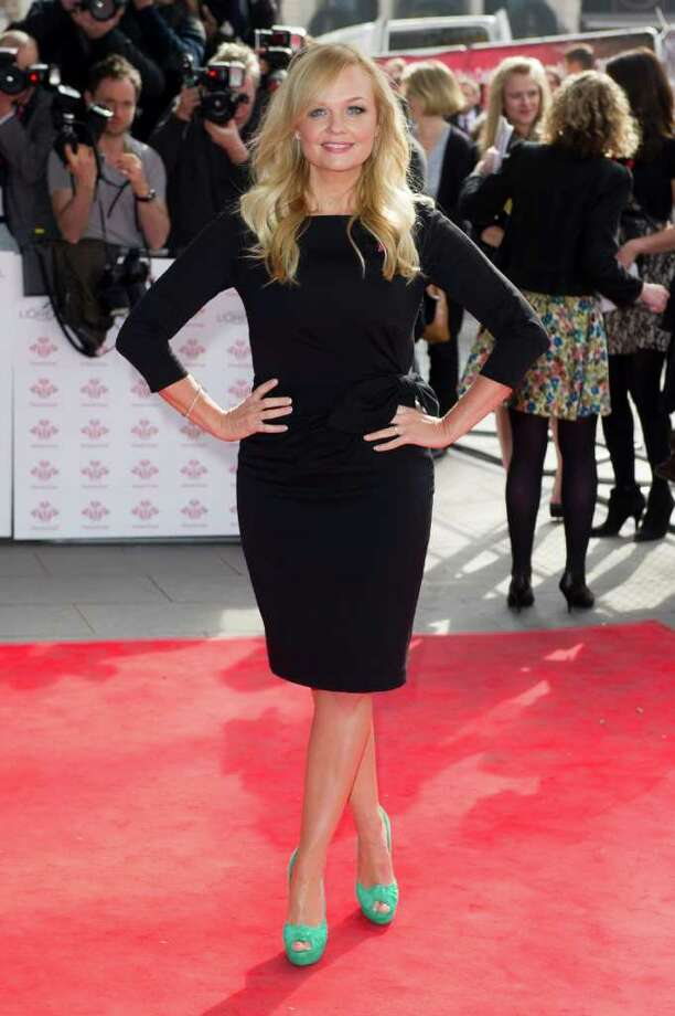 Emma Bunton arrives for The Prince's Trust Success Awards at a central London venue Wednesday, March 14, 2012. (AP Photo/Jonathan Short) Photo: Jonathan Short, Associated Press / AP