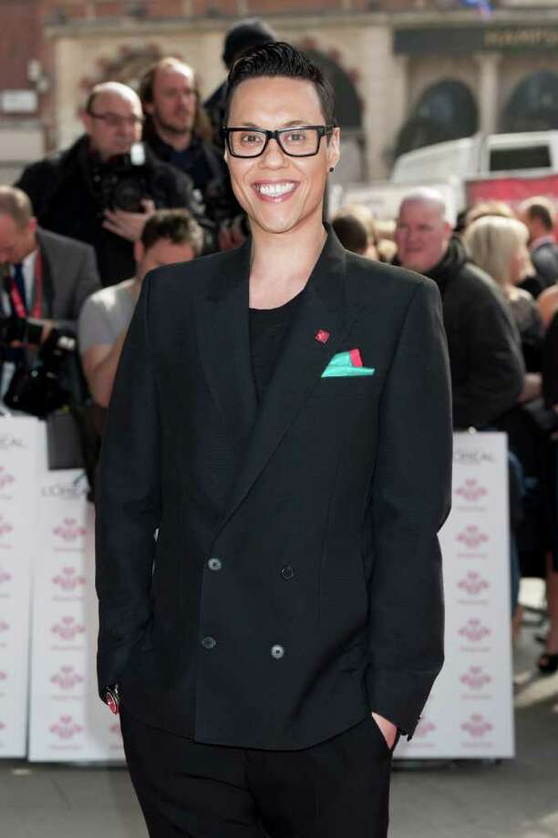 Gok Wan arrives for The Prince's Trust Success Awards at a central London venue Wednesday, March 14, 2012. (AP Photo/Jonathan Short) Photo: Jonathan Short, Associated Press / AP