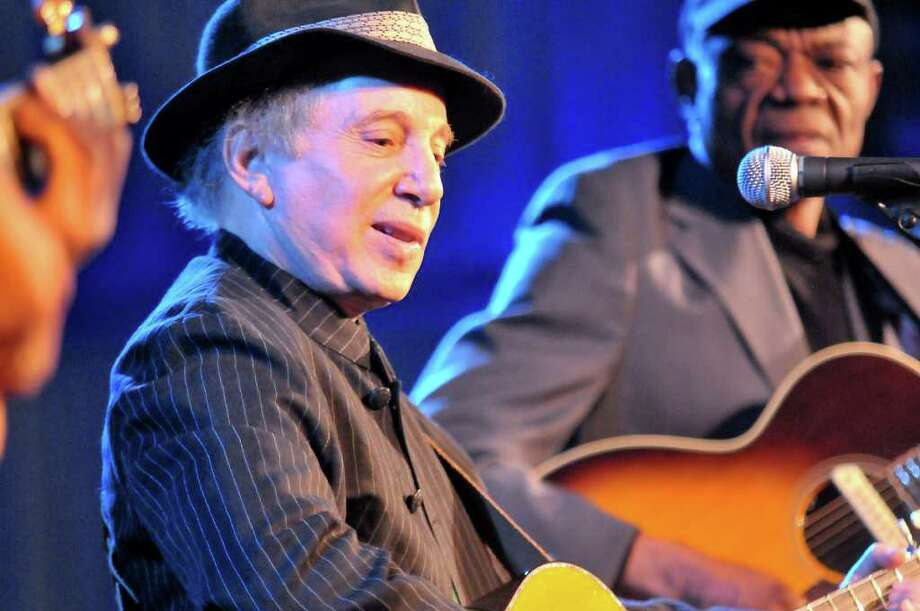 Grammy Award-winning singer/songwriter Paul Simon is scheduled to headline the second annual Greenwich Town Party, slated for May 26 at Roger Sherman Baldwin Park. Tickets go on sale March 15. Photo: Contributed Photo