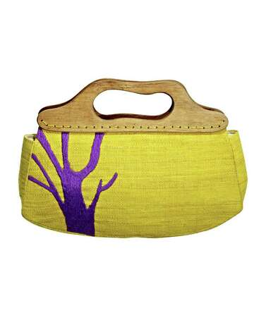This yellow Bermuda bag from TJMaxx is another way to add color to a spring wardrobe. Photo: TJMAXX