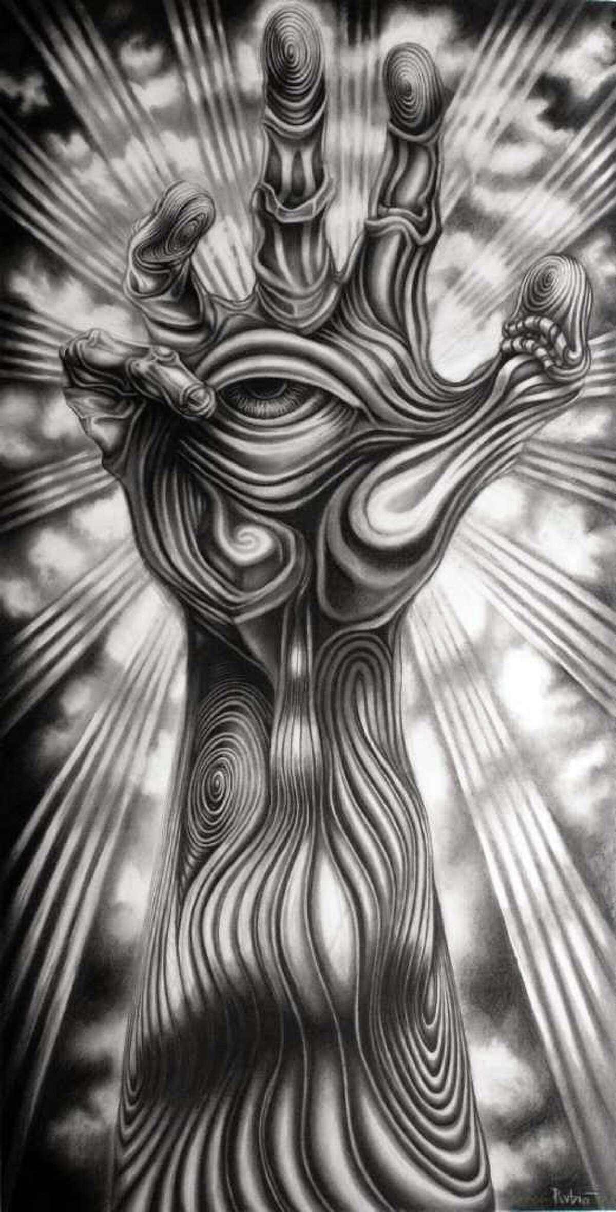 San Antonio artist Alex Rubio's