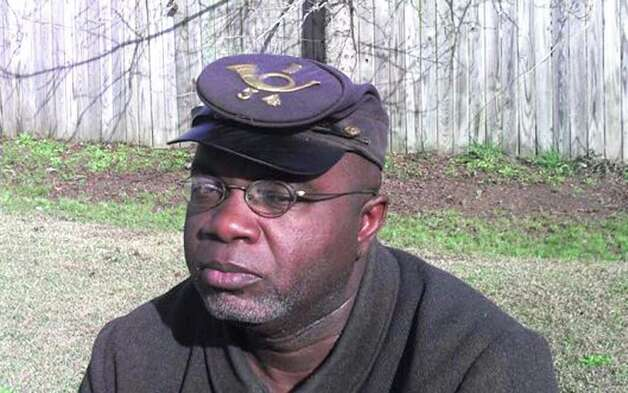 Joseph McGill Jr., a descendent of slaves, a civil War reenactor and founder of the Slave Dwelling Project, will spend the night in the former slave quarters at Bush-Holley House as part of the project. Photo: Contributed Photo