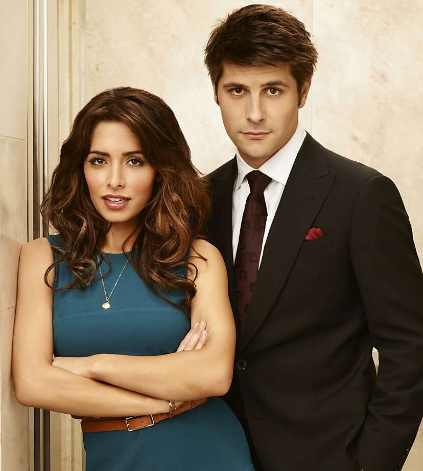 """Sarah Shahi, left, as Kate Reed and Ryan Johnson as Ben Grogan star in USA's """"Fairly Legal."""" (Andrew Eccles/USA Network/MCT) Photo: Handout, McClatchy-Tribune News Service"""