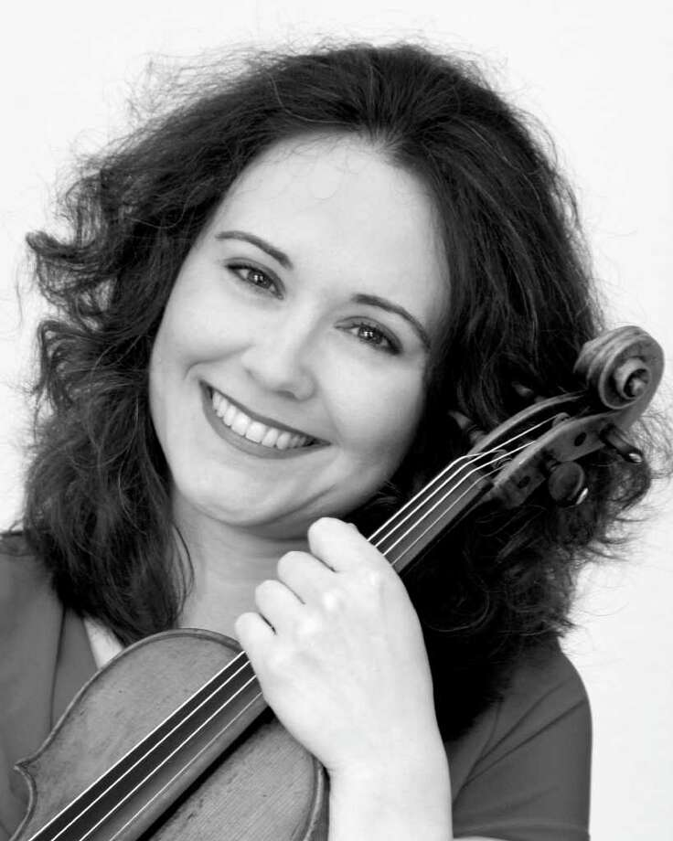 Violinist Judith Ingolfsson will perform two selections, Alban Berg's 'Violin Concerto,' and Saint-Saens 'Introduction and Rondo Capriccioso,' during two concerts with the Greenwich Symphony Orchestra, March 17 and 18. For more information on times and ticket prices, call 203-869-2664 or visit www.greenwichsym.org. Photo: Contributed Photo