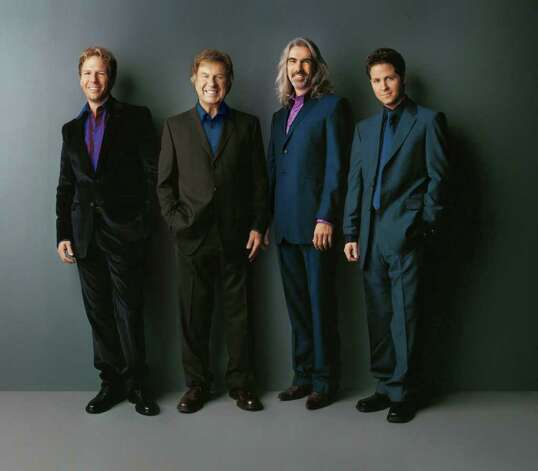 Bill Gaither (second from left) & the Gaither Vocal Band will perform at the Majestic Theatre on Sunday.