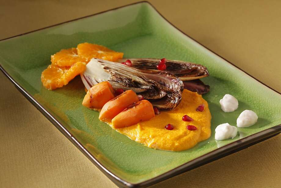 Carrot & Endive With Carrot Puree Photo: Craig Lee, Special To The Chronicle