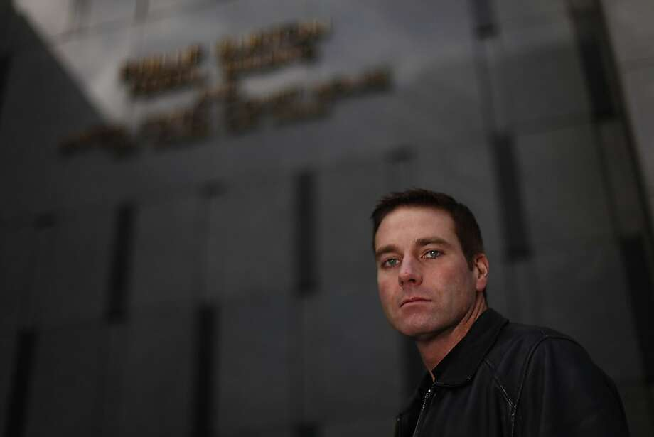 Carl Marino, government informant who exposed private investigator Christopher Butler and former cop Norman Wielsch, is seen in front of the Phillip Burton Federal Building and United States Court House on Wednesday, January 18, 2012 in San Francisco, Calif. Photo: Lea Suzuki, The Chronicle