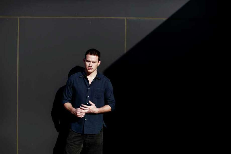 Actor Channing Tatum at the Ritz Carlton in Washington, Feb. 29, 2012.  Photo: LUKE SHARRETT / NYTNS