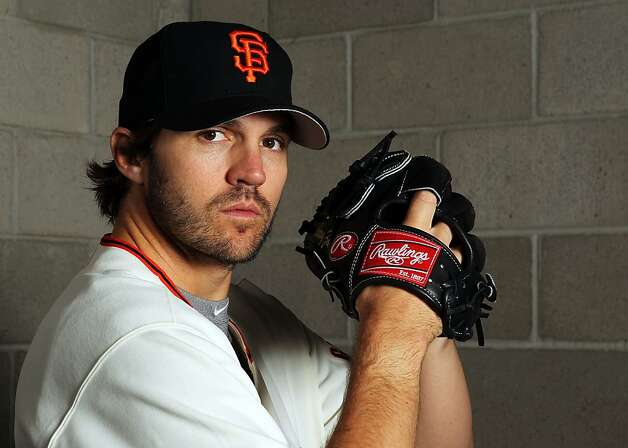 SCOTTSDALE, AZ - MARCH 01:  Pitcher Barry Zito #75 of the San Francisco Giants poses during spring training photo day on March 1, 2012 in Scottsdale, Arizona.  (Photo by Jamie Squire/Getty Images) Photo: Jamie Squire, Getty Images