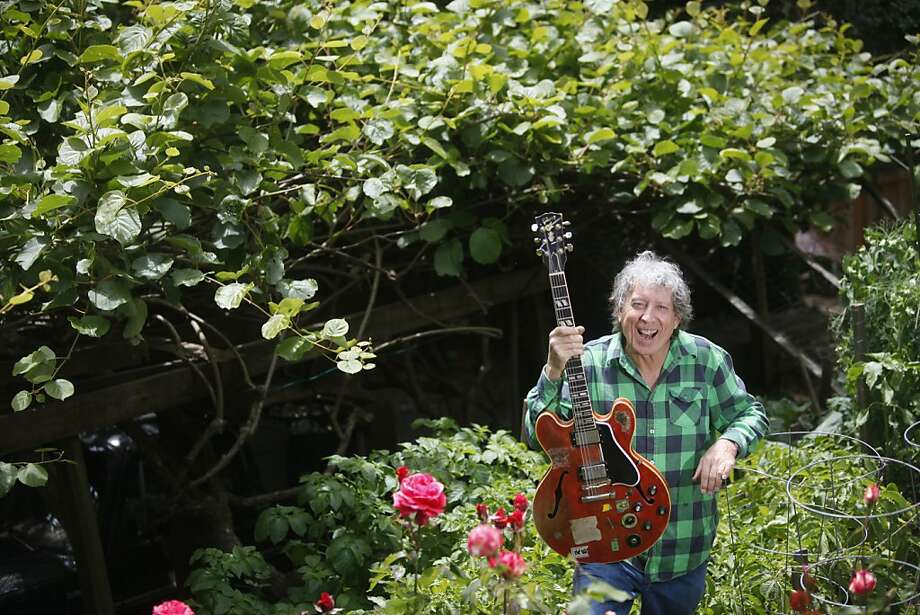 Blues musician Elvin Bishop grows a bounty of edibles in his yard in Lagunitas. Photo: Mike Kepka, The Chronicle
