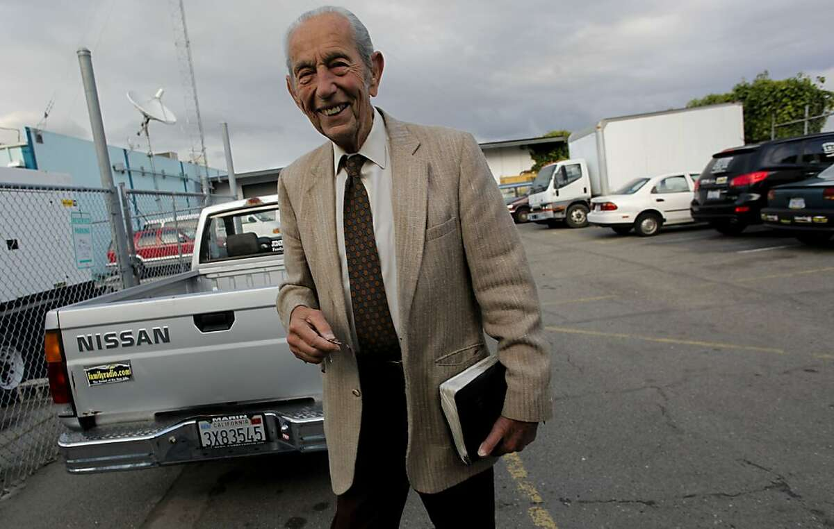 Harold Camping, the Oakland-based Family Radio preacher who predicted the end of the world twice in 2011, has died at 92. According to a Family Radio statement, Camping died Sunday, Dec. 15, 2013, at his home after a fall on Nov. 30.