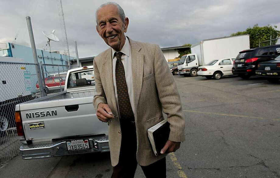 "Harold Camping, shown walking to his car after his ""Open Forum"" show on Family Radio in Oakland last year, had first predicted the rapture would occur on May 21, then on Oct. 21, 2011. Photo: Michael Macor, The Chronicle"