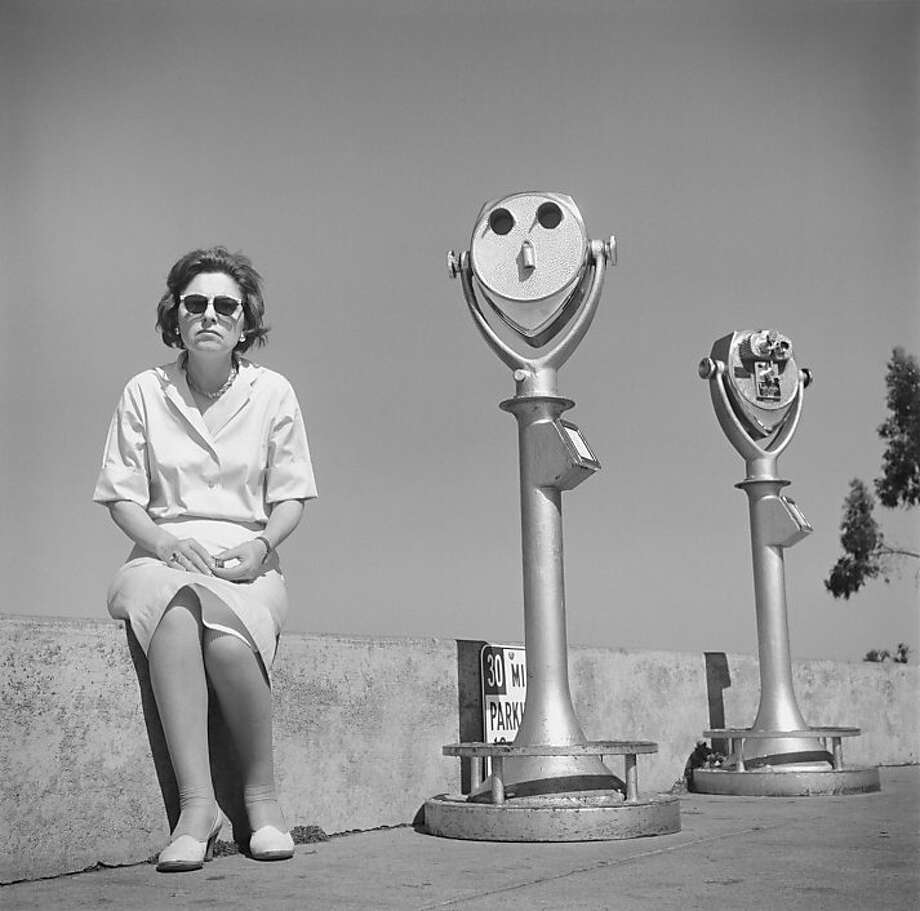 """Untitled (Coit Tower)"" (1964, printed 2010-11) Selenium-toned gelatin silver print by Arthur Tress Photo: Arthur Tress"
