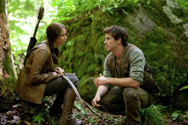 The Hunger Games, starring Jennifer Lawrence and Gale Hawthorne, was shot in North Carolina. Photo: Murray Close / HC