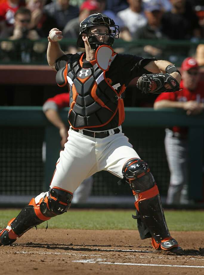 Buster Posey is back. Photo: Paul Chinn, The Chronicle