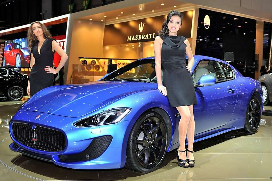 A Maserati GranTurismo Sport is displayed at the Italian carmaker's booth on March 6, 2012 during a press day ahead of the 82nd Geneva Car Show in Geneva. Some 700 carmakers will be taking part in the Geneva Motor Show, which opens to the public from March 8 to 18. Photo: Sebastien Feval, AFP/Getty Images