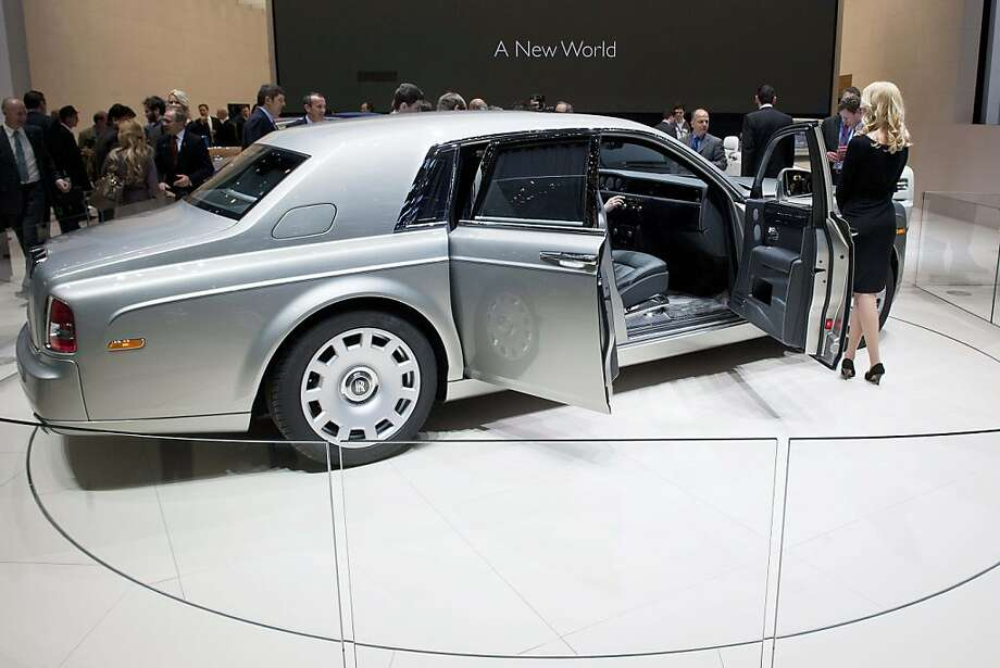 The new Rolls Royce Phantom 2 is shown, during the press day at the 82st Geneva International Motor Show in Geneva, Switzerland, Tuesday, March 6, 2012. The Motor Show will open its gates to the public from 8th to 18th of March presenting more than 260 exhibitors and more than 180 world and European premieres. Photo: Sandro Campardo, Associated Press