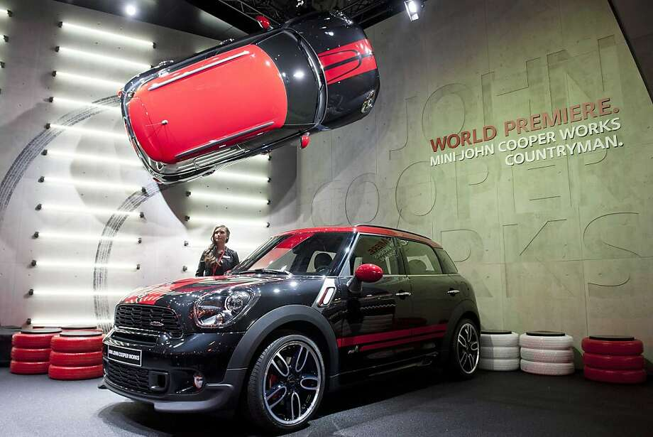 The New Mini John Cooper Works Countryman, is shown during the press day at the 82st Geneva International Motor Show in Geneva, Switzerland, Tuesday, March 6, 2012. The Motor Show will open its gates to the public from 8th to 18th of March presenting more than 260 exhibitors and more than 180 world and European premieres. Photo: Sandro Campardo, Associated Press