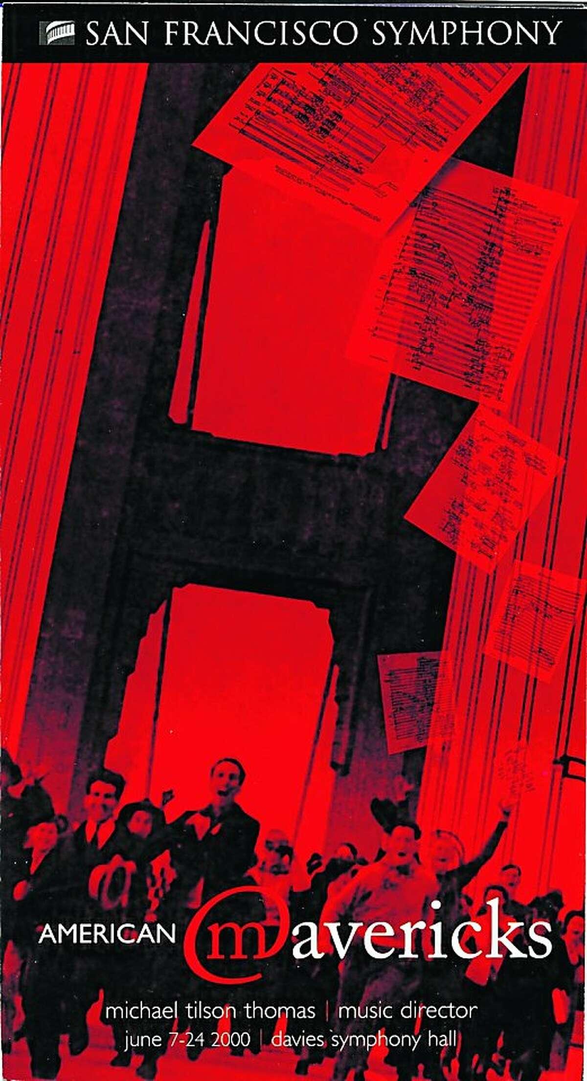 2000 American Mavericks poster.