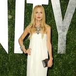 Stylist Rachel Zoe arrives at the 2012 Vanity Fair Oscar Party hosted by Graydon Carter at Sunset Tower on February 26, 2012 in West Hollywood, California.