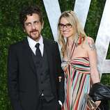 WEST HOLLYWOOD, CA - FEBRUARY 26:  Musicians Michael Penn (L) and Aimee Mann arrive at the 2012 Vanity Fair Oscar Party hosted by Graydon Carter at Sunset Tower on February 26, 2012 in West Hollywood, California.  (Photo by Alberto E. Rodriguez/Getty Images)