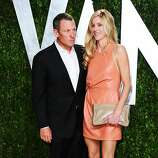 WEST HOLLYWOOD, CA - FEBRUARY 26:  Lance Armstrong (L) arrives at the 2012 Vanity Fair Oscar Party hosted by Graydon Carter at Sunset Tower on February 26, 2012 in West Hollywood, California.  (Photo by Alberto E. Rodriguez/Getty Images)