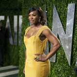 Venus Williams arrives to the Vanity Fair Oscar Party for the 84th Annual Academy Awards at the Sunset Tower on February 26, 2012 in West Hollywood, California.    AFP PHOTO / ADRIAN SANCHEZ-GONZALEZ (Photo credit should read ADRIAN SANCHEZ-GONZALEZ/AFP/Getty Images)