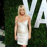 WEST HOLLYWOOD, CA - FEBRUARY 26: TV personality Suzanne Somers arrives at the 2012 Vanity Fair Oscar Party hosted by Graydon Carter at Sunset Tower on February 26, 2012 in West Hollywood, California.  (Photo by Alberto E. Rodriguez/Getty Images)