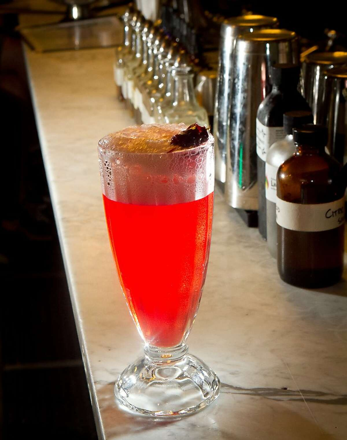 The Wild Cherry Phosphate at the Ice Cream Bar in San Francisco.