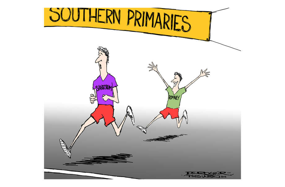 Romney loses to Santorum in Southern primaries. Photo: John De Rosier