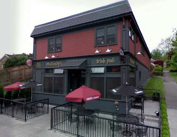 Mulleady's Irish Pub at 3055 21st Ave. W. is one of the better Irish pubs in Seattle. They're planning an upscale St. Patrick's Day dinner that's $40 per person, and breakfast begins at 9 a.m. Reservations are encouraged. Photo: Google Street View