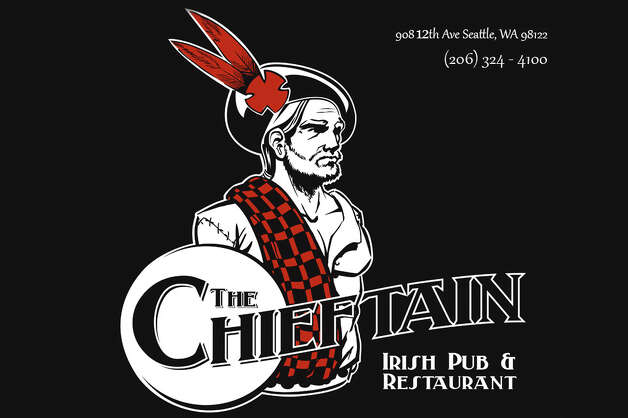 The Chieftain, near Seattle University, which for decades had a Chieftain as its mascot, opens at 9 a.m. on St. Patrick's Day. Staff suggests that you arrive as early as you can. Photo: Thechieftainseattle.com
